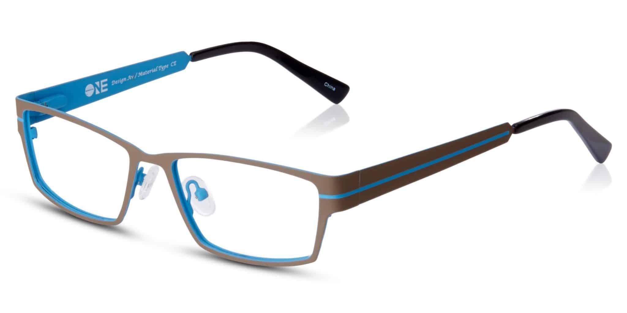 ONE - מתכת כחול כהה עם צבע פנימי