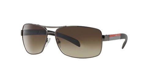 פראדה משקפי שמש חום מקומר SPS 54I